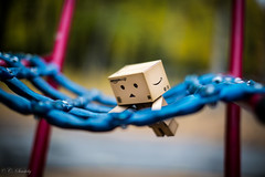 Danbo at the playground III