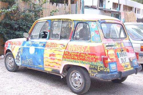 Ibiza hippy car