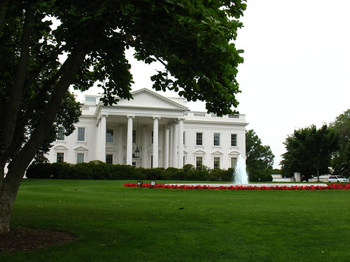 peaceful White House