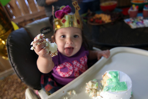 Iris' first birthday party