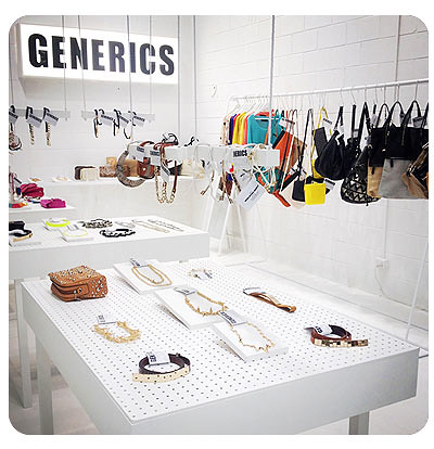 Generics Pop Up Shop