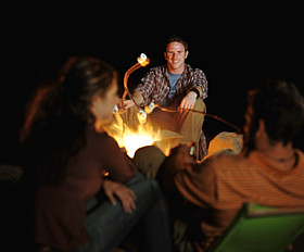 around the campfire by ConsumerSearch.com, on Flickr