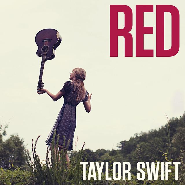 Taylor Swift alternative RED album cover artwork