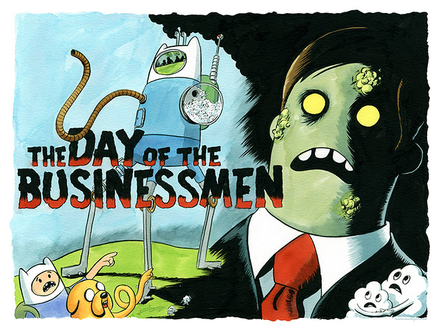 Day of the Businessmen Print!