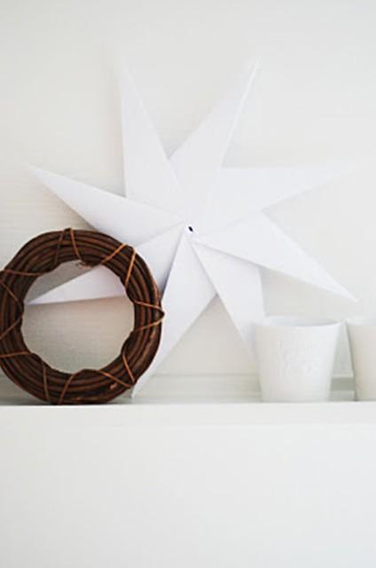 decorar con estrellas de papel (1)