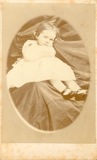 Marshall, W. of Guelph, ON - Little Girl - Hidden Mother - CDV