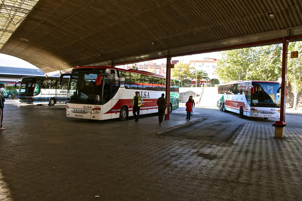 Bus station, Úbeda, Spain