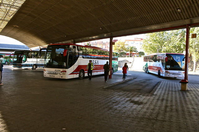 Bus station, Úbeda, Spain