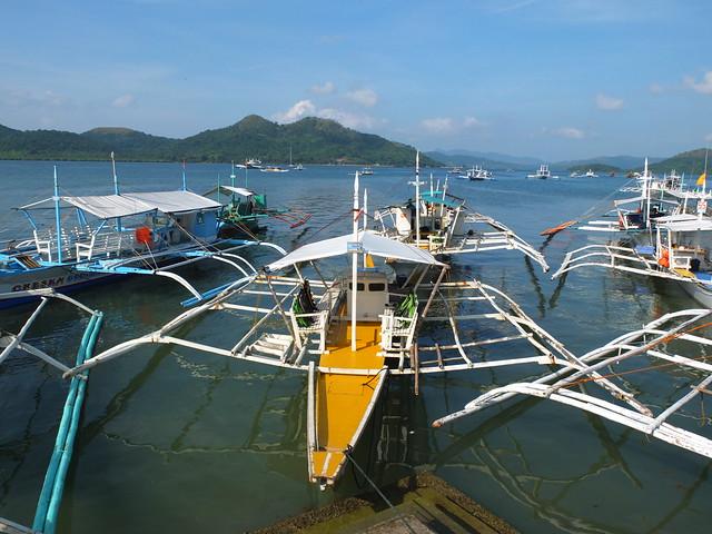 來到港口搭乘螃蟹船~準備出海開始一天的行程囉!