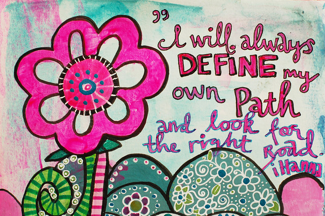 I will always define my own path journal page