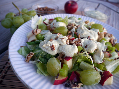 'Jalapeno Face' Spicy Waldorf Salad for Iron Chef (0031)