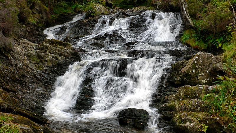 Cascades Above Plodda Falls