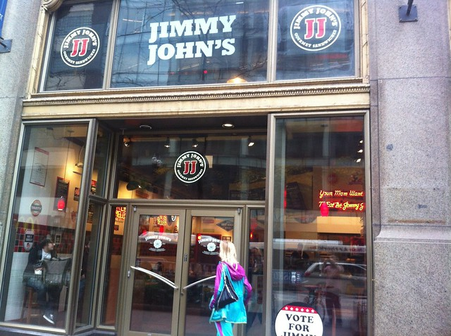 Loop Lunching: Jimmy John's