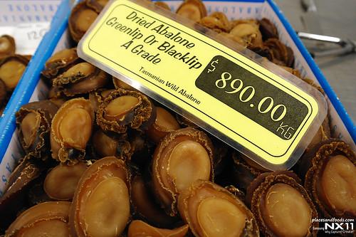 tas live dried abalone