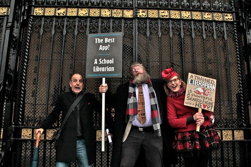 Mass Lobby of Parliament for School Libraries
