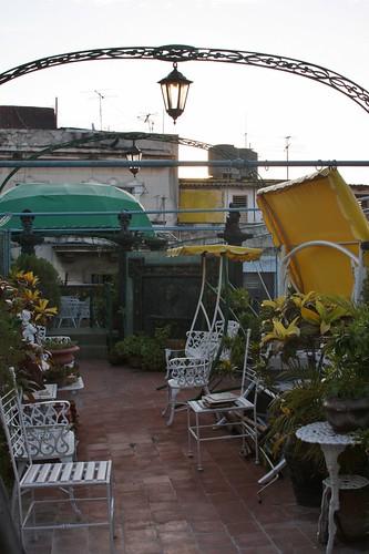Casa particular terrace