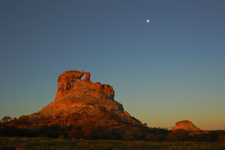 Window Rock at sunset 2