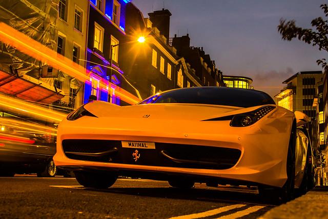 F458 yellow