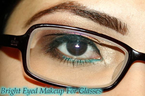 Bright Eyed Makeup For Glasses Tutorial