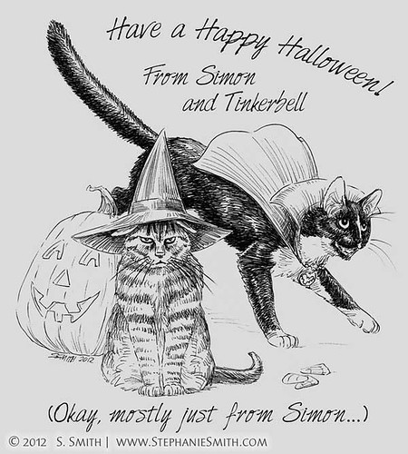 Trick or Treat Kitties!