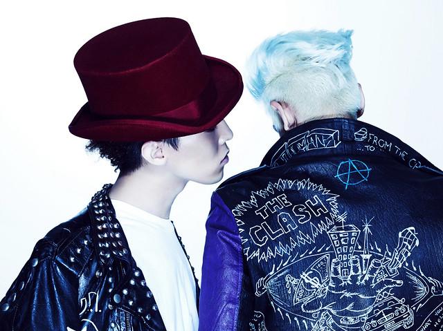 GD & TOP G-Dragon and T.O.P from BigBang