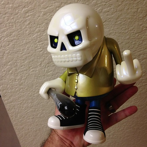 1off @toypunk @recklesstoys for @designercon $160 cash or credit by Bebop'n