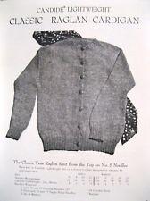 candide classic raglan cardigan