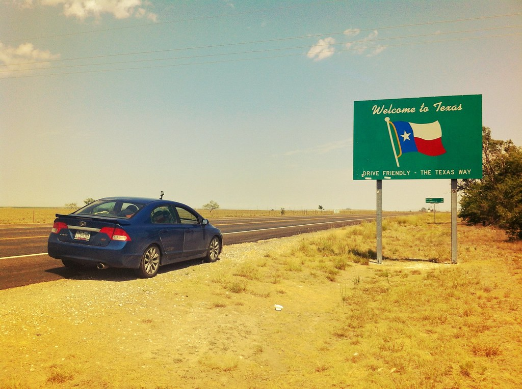 Texas, New Mexico Border