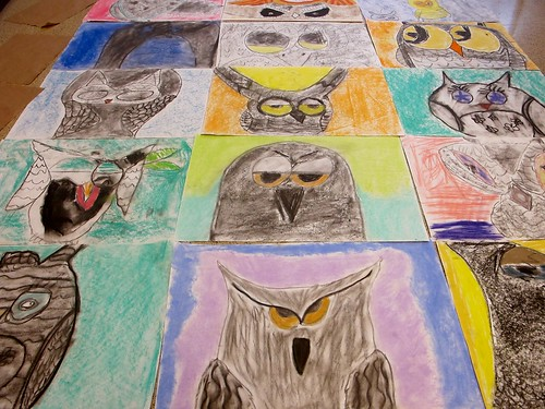 ALL of the big, messy owls! #1