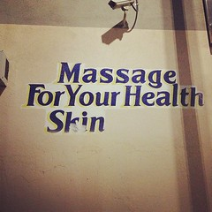 Massage For Your Health Skin.