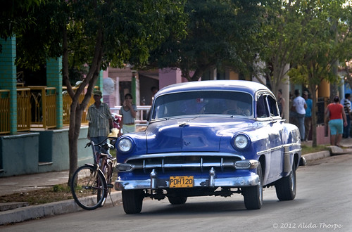 another blue car country by Alida's Photos