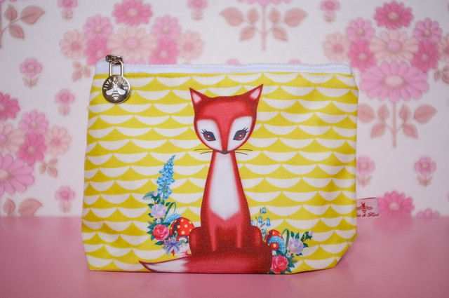 My foxy make-up bag