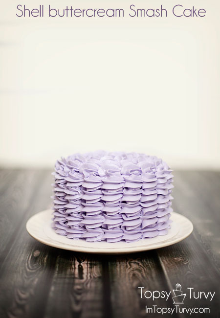 shell-buttercream-smash-cake