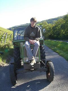 Bild von mir auf einem Fendt Farmer 1E