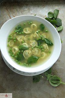 Spinach Totellini Soup