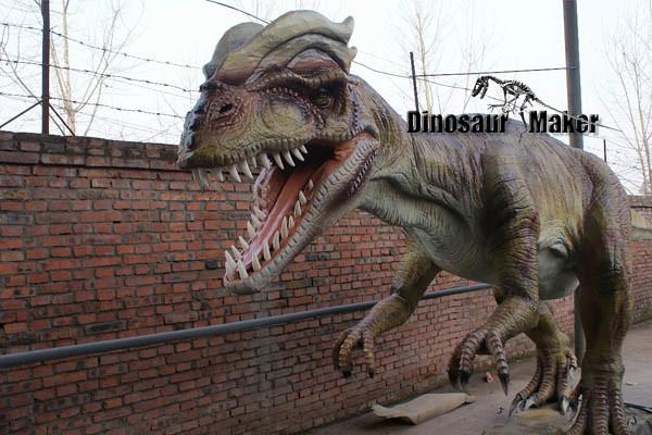 Animatronic Dilophosaurus Dinosaur dinopark