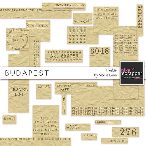 Budapest Facebook Freebie