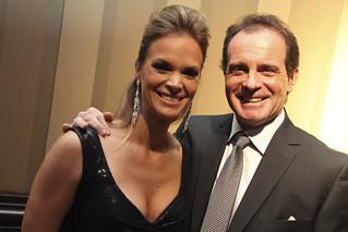 Hosts TSN's Jennifer Hedger and Rod Black