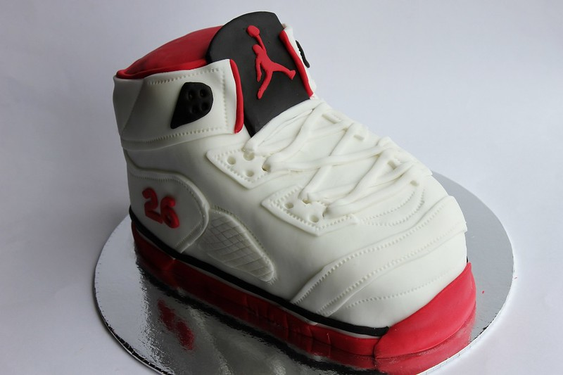 best sneakers fe5d4 ccf8a Air Jordan 3D Shoe Cake