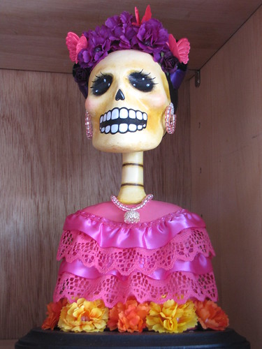 Day of the Dead Female Sculpture