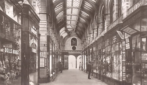 Royal Arcade Norwich c1910