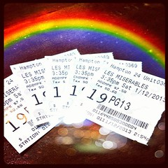 Les Miz, finally! Two thumbs up  #instalate #instalatepic #fambam #movieweekend