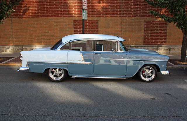 1955 chevrolet bel air 4 door sedan 3 of 4 for 1955 chevy bel air 4 door