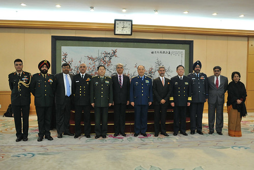 INDIA-CHINA DEFENCE DIALOGUE by Chindits
