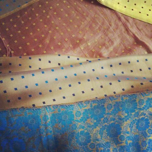 More silk.
