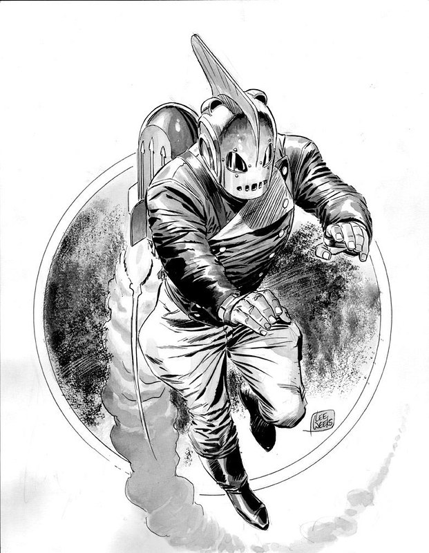 Rocketeer by Lee Weeks