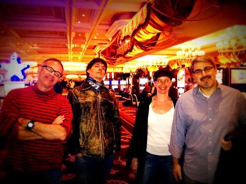 @Hashtracking @NuanceEducation @Lttlewys @SamFiorella at The Bellagio  Las Vegas 2013 #NMX