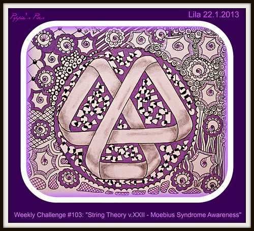 Weekly Challenge #103 String Theory v.XXII  Moebius Syndrome Awareness by Poppie_60