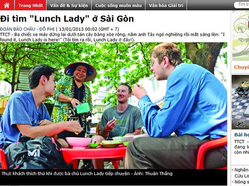Đi tìm Lunch Lady ở Sài Gòn - Tuổi Trẻ Cuối Tuần - Tuổi Trẻ Online