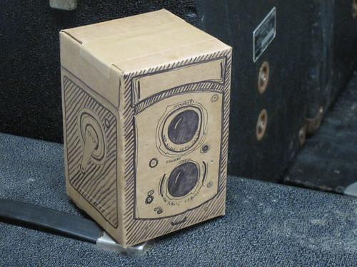 IRCam draft box